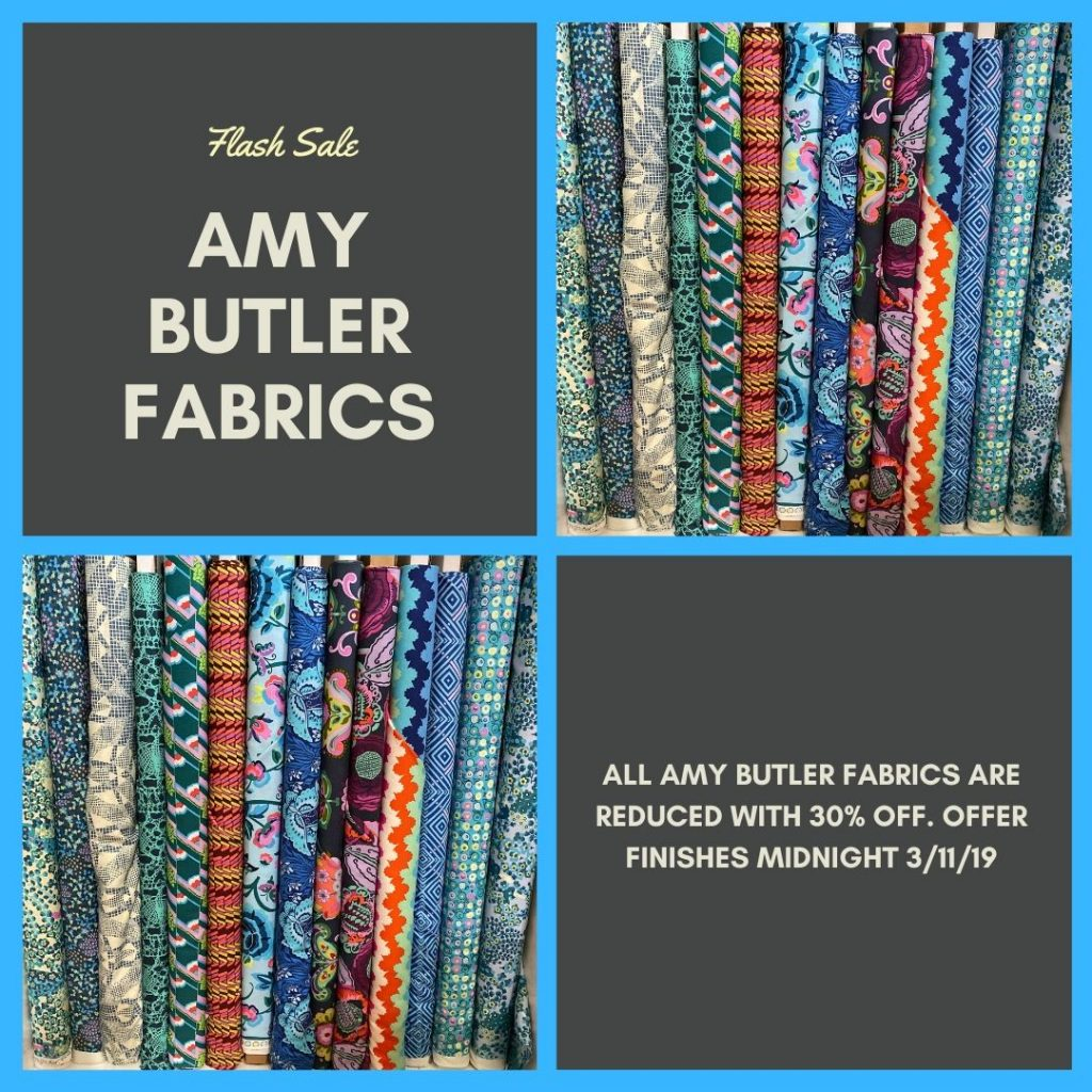 Amy Butler Fabric Flash Sale