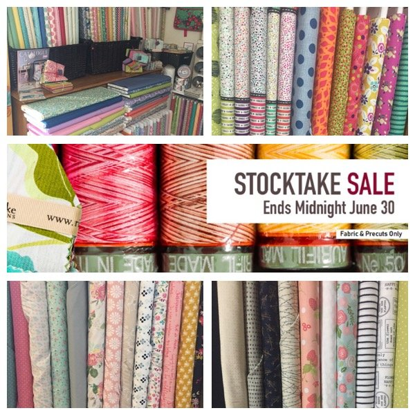 Stocktake Sale ends today!