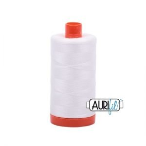 Aurifil Mako NE 50 Cotton Thread 2021