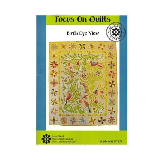 Birds Eye Quilt Pattern by Focus on Quilts
