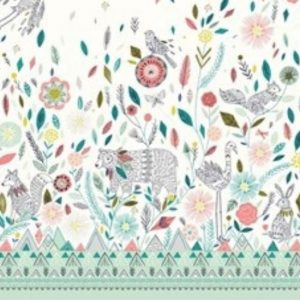 Boho Meadow Fabric D1373 Multi