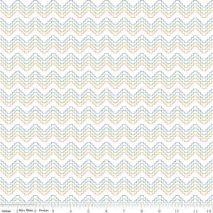 Riley Blake Azure Skies Fabric C8156-White