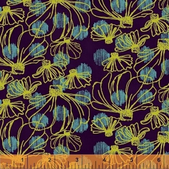 Homeward Fabric 50809-3 By Natalie Barnes for Windham Fabrics