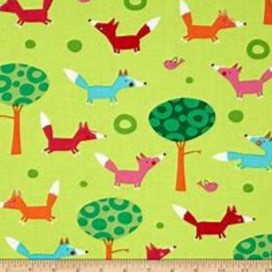 Creatures and Critters Cotton Fabric 15138-238 Garden