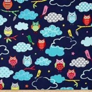 Creatures and Critters Cotton Fabric 15141-238 Garden