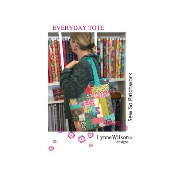 Everyday Tote Pattern by Lynne Wilson