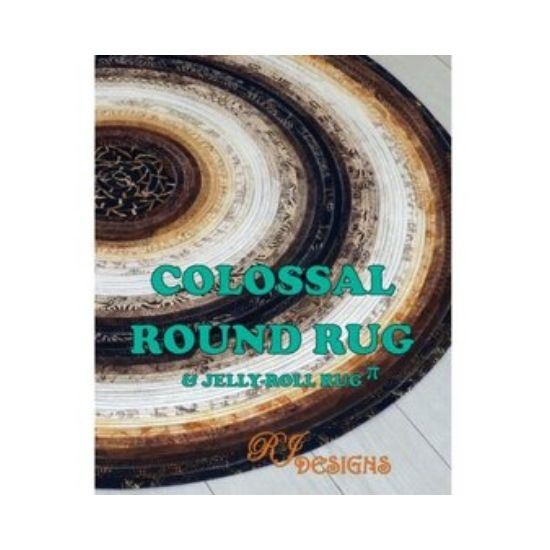 Jelly Roll Rug Pattern - Round