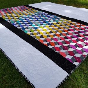 Refraction Quilt Pattern, EPP & Template Set