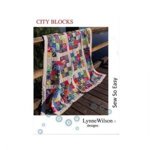 City Blocks Pattern by Lynne Wilson