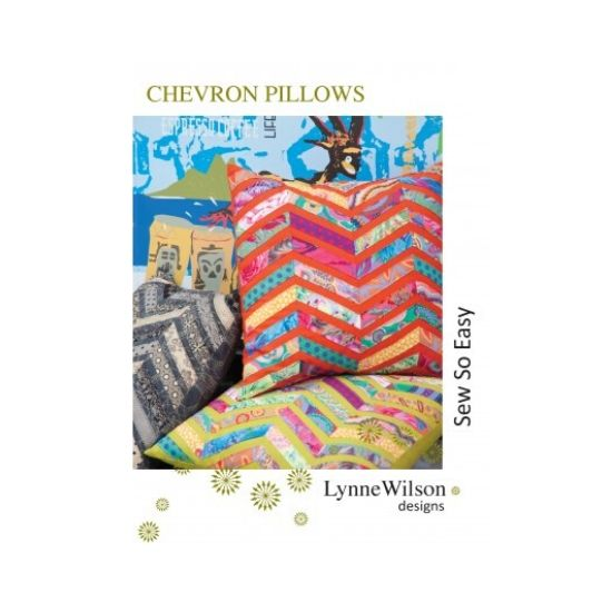 Chevron Pillows Pattern by Lynne Wilson