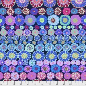 Kaffe Fassett Fall 2018 Collective Row Flowers PWGP169.Bluex