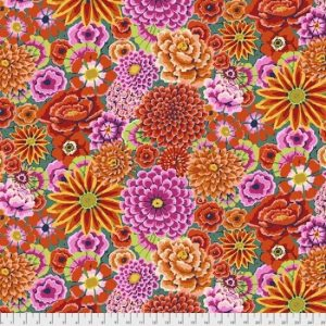 Kaffe Fassett Fall 2018 Collective Enchanted SKU: PWGP172.red