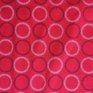 Red Rooster Modern Stitching Fabric RR25411Red
