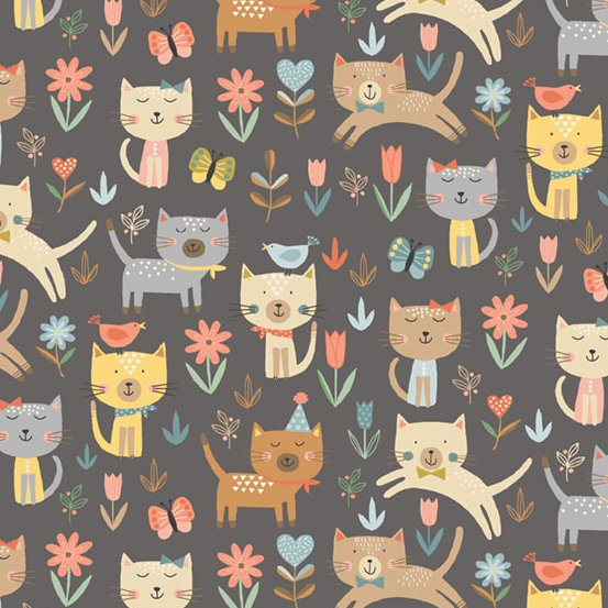 Cool Cats Fabric M2183S