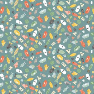 Cool Cats Fabric M2184T