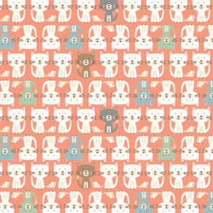 Cool Cats Fabric M2185P