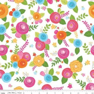 Riley Blake Simply Happy Fabric C7450