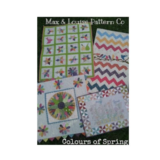 Colours Of Spring Quilt Patterns