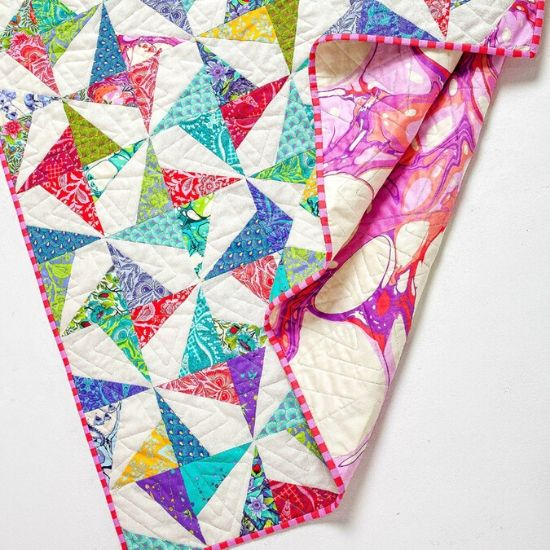 Confetti Quilt Pattern by Jemima Flendt of Tied With a Ribbon