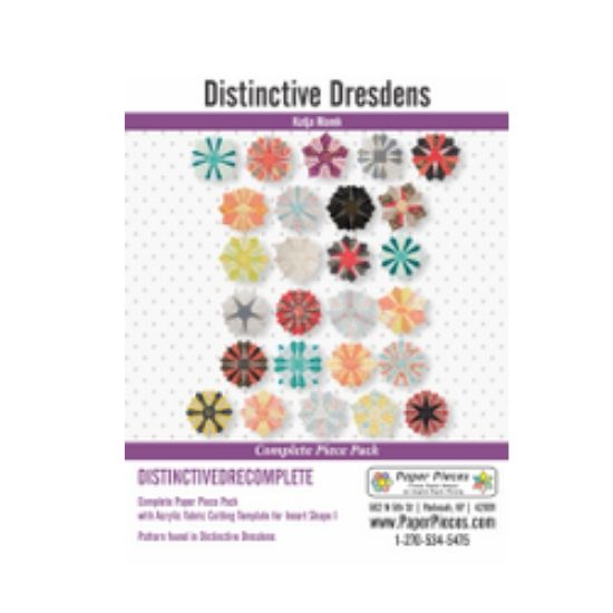 Distinctive Dresdens Paper Piece Pack