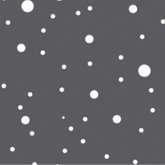 Devonstone Basics Collection Grey Spot Fabric DV2015