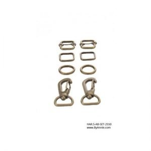 by annie.com HAR.5-AB-Set-2550 Antique Brass