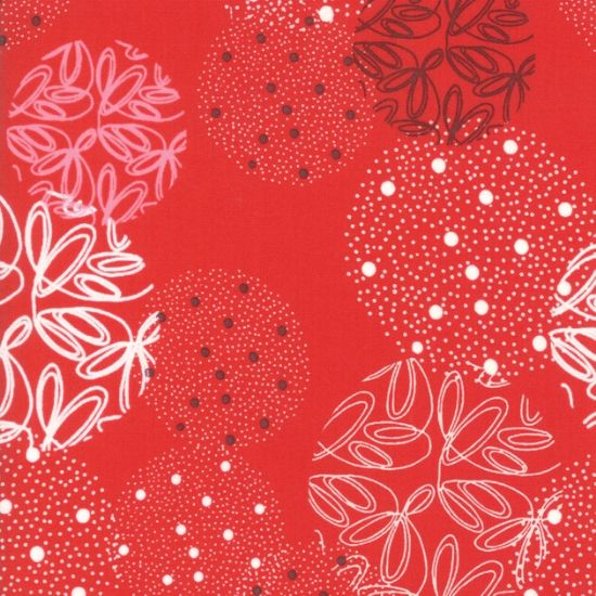 Moda Just Red Fabric M170012
