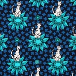 Rhoda Ruth Cotton Fabric 15458-231 Nightfall
