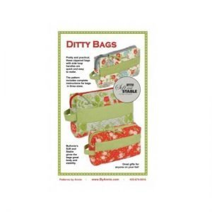 by annie.com Ditty Bags Pattern