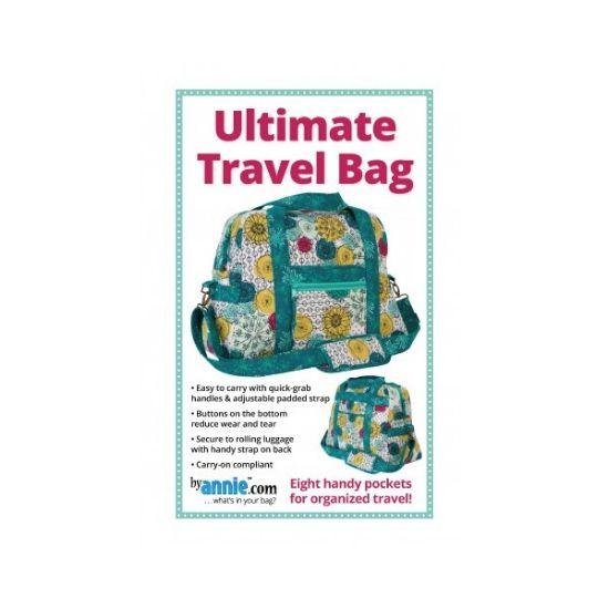 by annie.com Ultimate Travel Bag Pattern