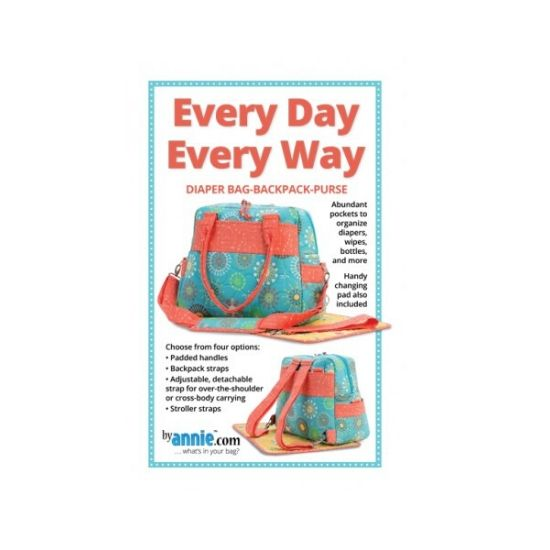 by annie.com Every Day Every Way Pattern