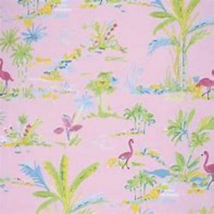 Dena Designs Chinoiserie Chic Paradise Fabric PWDF194 Pink