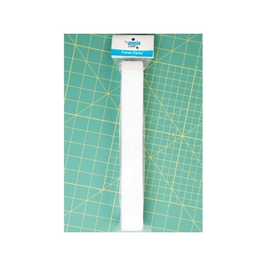 """by annie.com Strapping 1.5"""" White 6yds"""
