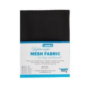 "by annie.com Mesh Black 18"" x 54"""