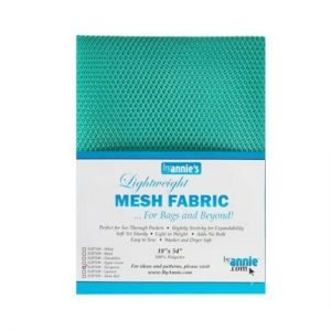 """by annie.com Mesh Turquoise18"""" x 54"""""""