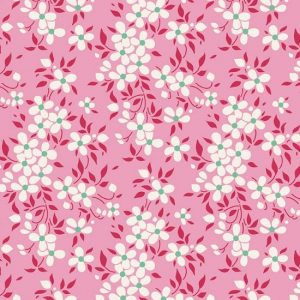 Tilda Apple Butter Peggy Pink Fabric 100141