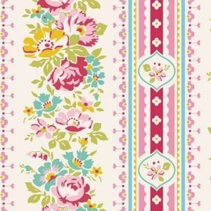 Tilda Apple Butter Billy Jo Red Fabric 100142