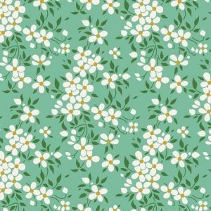 Tilda Apple Butter Peggy Sage Fabric 100153