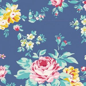 Tilda Apple Butter Shirley Blue Fabric 100157