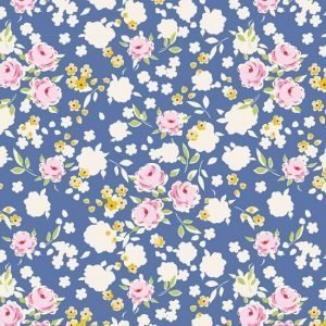 Tilda Apple Butter Bonnie Blue Fabric 100159