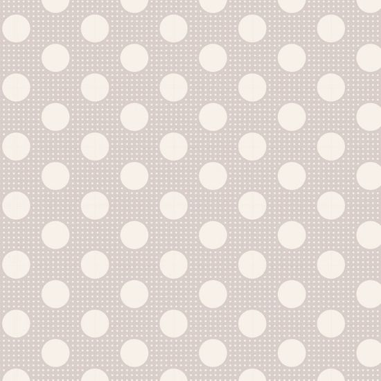 Tilda Medium Dots Light Grey Fabric 130008