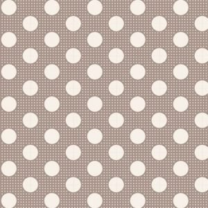 Tilda Medium Dots Grey Fabric 130012