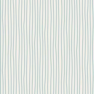 Tilda Basics Classic Pen Stripe Light Blue Fabric 130032