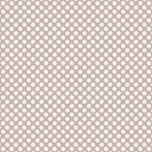 Tilda Basics Classic Paint Dots Grey Fabric 130036