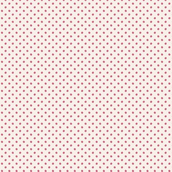 Tilda Basics Classic Tiny Dots Pink Fabric 130046