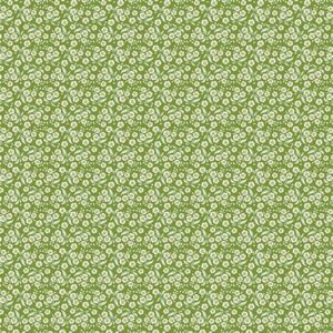 Tilda Circus Forget Me Not Green Fabric 481339