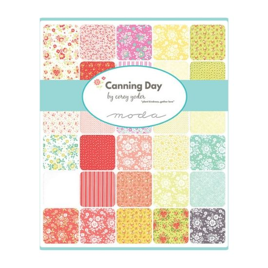 Moda Canning Day Charm Square Pack M29080PP