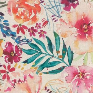 Moda Brightly Blooming Mochi Linen Fabric MDL843011