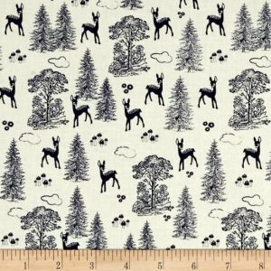 Riley Blake Woodland Spring Fabric C4991
