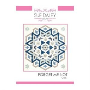 Sue Daley Forget Me Not Quilt Pattern